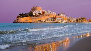 Превью обои венеция, море, строение, красиво