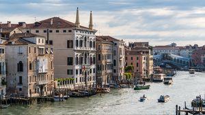Превью обои венеция, италия, риальто, канал