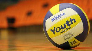 Превью обои волейбольный мяч, волейбол, спорт