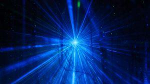 Превью обои вспышка, свет, лучи, абстракция