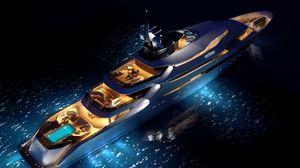 Превью обои яхта, концепт, luxury
