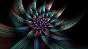 Превью обои яркий, дым, свет, цветок, форма, дымовой