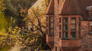 Превью обои замок, здание, старый, архитектура, загородный