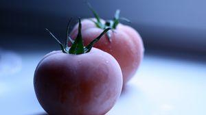 Превью обои замороженная еда, помидор, спелый