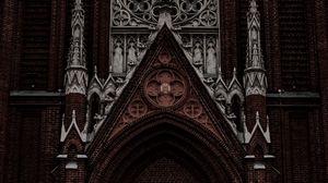 Превью обои здание, архитектура, готика