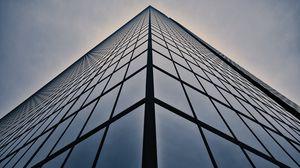 Превью обои здание, архитектура, минимализм, линии