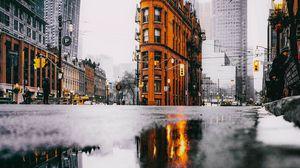 Превью обои здания, архитектура, улица, город, торонто