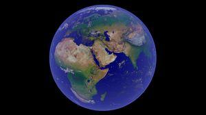 Превью обои земля, планета, космос, мир