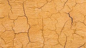 Превью обои земля, трещины, текстура, поверхность, сухой, коричневый