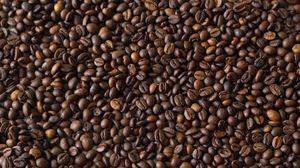 Превью обои кофейные зерна, кофе, коричневый