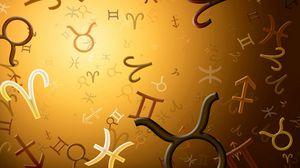 Превью обои знаки зодиака, зодиак, символы