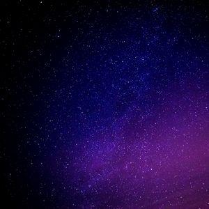 Превью обои звездное небо, галактика, блеск, ночь