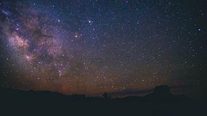 Превью обои звездное небо, вселенная, галактика