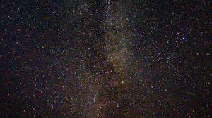 Превью обои звездное небо, звезды, созвездия, космос