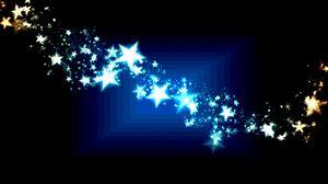 Превью обои звезды, арт, абстракция, темный