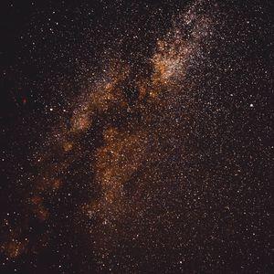 Превью обои звезды, космос, небо, блеск