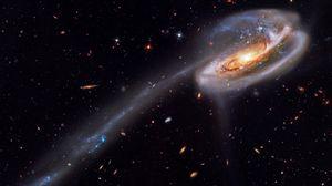 Превью обои звезды, космос, туманность