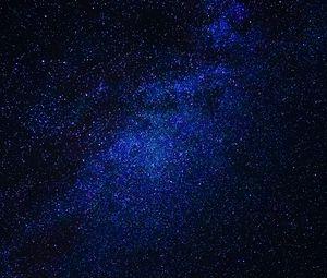Превью обои звезды, млечный путь, пространство, космос