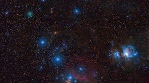 Превью обои звезды, созвездия, галактики, космос