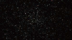 Превью обои звезды, созвездия, звездное небо, космос, черный