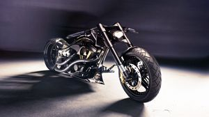 Превью обои soltador cruiser, hamann, bike, custom
