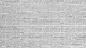 Превью обои стена, кирпич, белый, краска, текстура