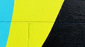 Превью обои стена, краска, поверхность, желтый, черный