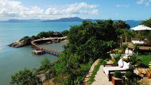 Превью обои тропики, курорт, пляж, отдых
