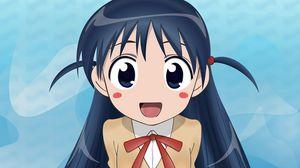 Превью обои tsukamoto tenma, school rumble, школьница, хвостики