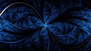 Превью обои узор, цвет, свет, синий, темный