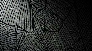 Превью обои узор, полосы, текстура, черный