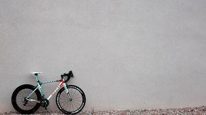 Превью обои велосипед, стена, спортивный