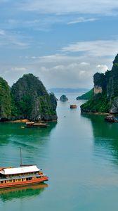 Превью обои вьетнам, тропики, море