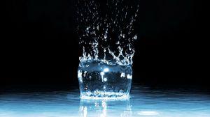 Превью обои воды, брызги, жидкость