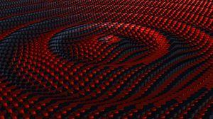 Превью обои волна, рельеф, 3d, текстура, оптическая иллюзия