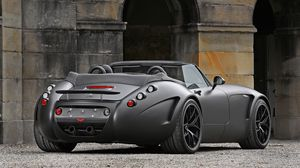 Превью обои wiesmann, roadster, mf5 v10, black, bat