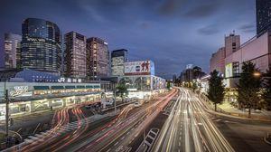 Превью обои япония, токио, станция синагава