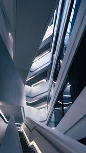 Превью обои здание, архитектура, дизайн, минимализм, лестница