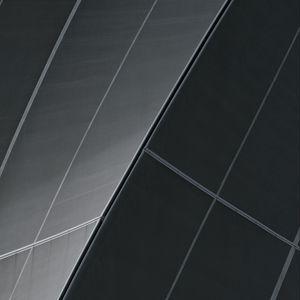 Превью обои здание, архитектура, изгиб, линии, черный