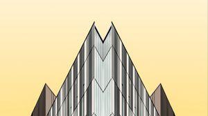 Превью обои здание, архитектура, минимализм, геометрия