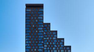 Превью обои здание, архитектура, минимализм, фасад