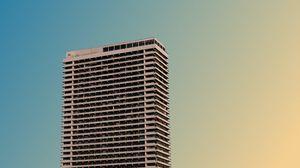 Превью обои здание, архитектура, многоэтажный, минимализм