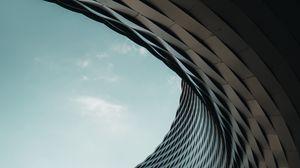 Превью обои здание, архитектура, модерн, параметрический