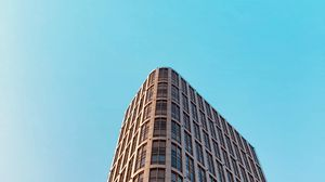 Превью обои здание, архитектура, небо, минимализм