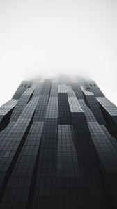 Превью обои здание, фасад, архитектура, современный, серый, минимализм