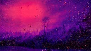 Превью обои пятна, точки, сиреневый, фиолетовый, брызги
