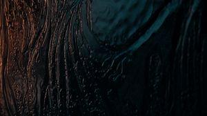 Превью обои жидкость, поверхность, темный, волнистый, рябь